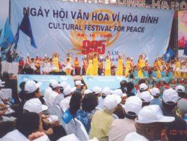 Ngày hội văn hóa vì hòa bình