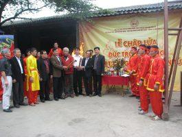 Lễ tiến dâng Trống Đồng lên Khu di tích Yên Tử