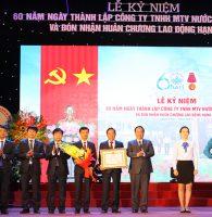 Công ty Nước sạch Hà Đông đón nhận Huân chương Lao động hạng Nhì