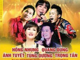 """5 giọng ca hàng đầu tham gia """"gửi nắng"""" tới Hà Nội"""