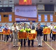 Lễ khai mạc giải bóng bàn doanh nghiệp thành phố Hà Nội mở rộng CUP truyền hình Hà Nội