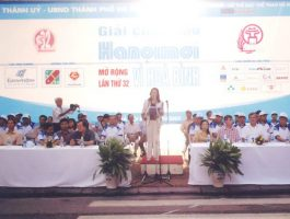 Giải chạy Báo Hà Nội mới lần thứ 32 – Vì Hoà Bình