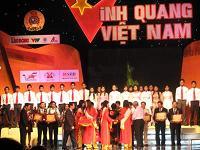 Các nhân vật được tôn vinh và biểu dương tại chương trình vinh quang Việt Nam lần thứ VII
