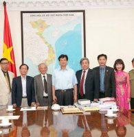 Thủ tướng tiếp Ban tổ chức Dự án Hào Khí Thăng Long