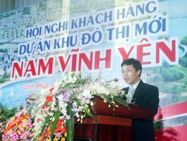 Chương trình hội nghị khách hàng dự án khu đô thị mới Nam Vĩnh Yên