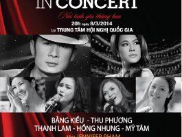 """Bằng Kiều, Thu Phương """"Người tình In concert """""""