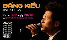 """Live show""""Nơi Tình Yêu Bắt Đầu"""" – Ca sỹ Bằng Kiều"""